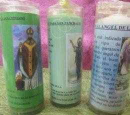 Velón oración: Angel de la guarda