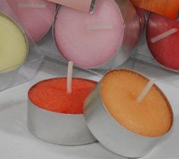 Velas perfumadas aroma coco (6 uds)