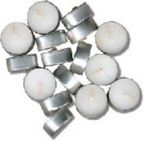 Velas calientaplatos blanca