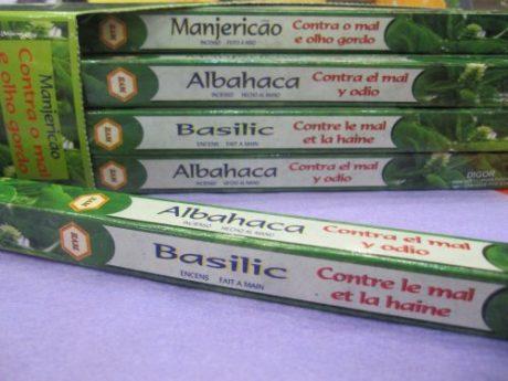 Incienso albahaca ( 8uds)