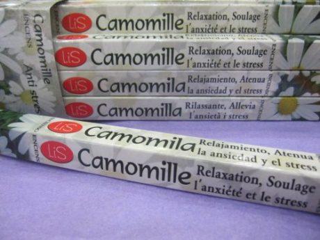 Incienso camomila ( 8 uds)