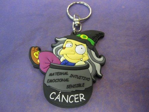 Llavero bruja cancer