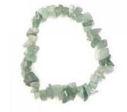 Pulsera chip jade verde
