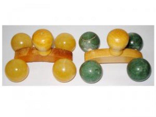 Masajeador bolas mineral