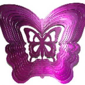 Movil tridimensional mariposa