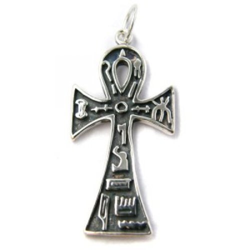Colgante cruz ank simbolos