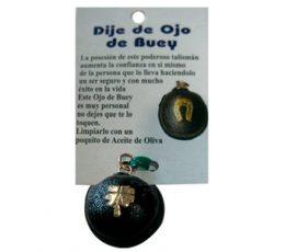 Amuleto ojo de buey