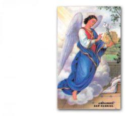 Estampa arcangel Gabriel