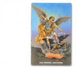 Estampa san miguel arcangel