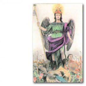 Estampa arcangel Rafael