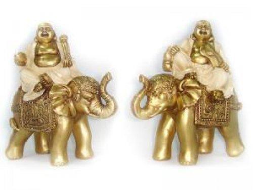 Buda con elefante suerte