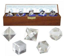 Solidos platónicos cristal roca