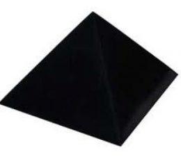Pirámide shungit 40mm