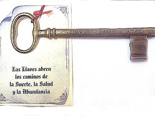 Amuleto llave abrecaminos