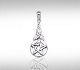 Colgante pentagrama con trisquel