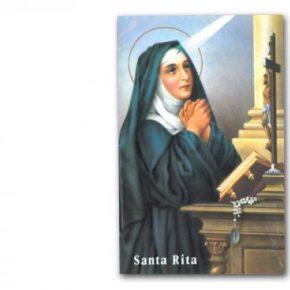 Estampa santa Rita