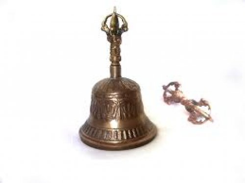 Campana tibetana 5 cm diametro