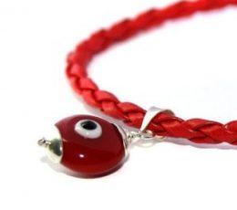 Pulsera amuleto ojo turco
