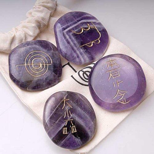 Set piedras para reiki amatista