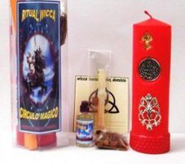 Ritual wicca circulo mágico