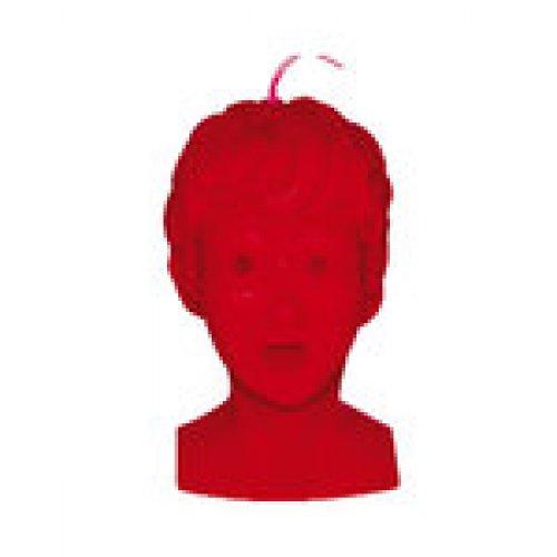 Vela cabeza roja