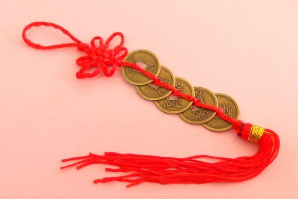 Monedas feng shui