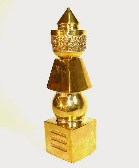 Pagoda 5 elementos bronce