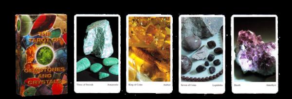 Tarot gemstones & crystals