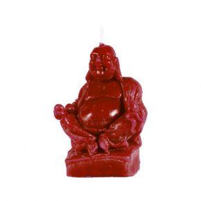 Vela Buda rojo