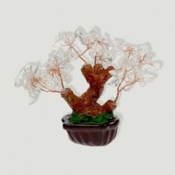 Bonsai cuarzo cristal