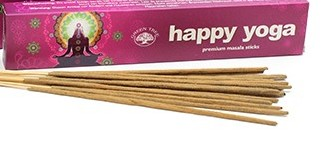 Incienso happy yoga