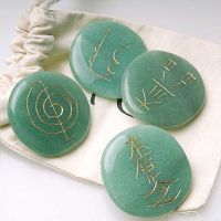 Set piedras reiki cuarzo verde