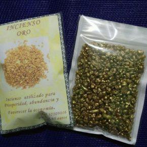 Incienso oro grano