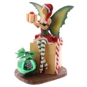 Hada navidad con regalo