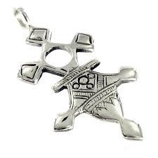 Colgante cruz tuareg