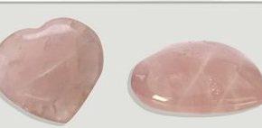Corazón cuarzo rosa 5cm