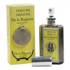 Perfume riqueza con amuleto
