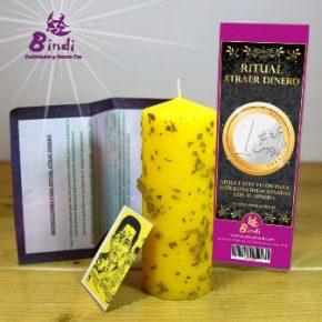 Ritual velón atrae dinero