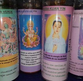 Velón oración Kuan Yin