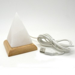 Lámpara pirámide sal USB