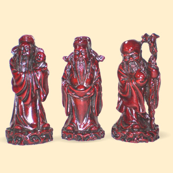 Los tres sabios fuk luk y sau