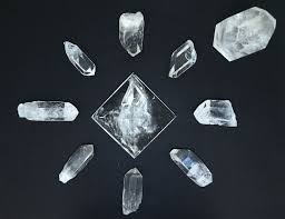 Parrilla de reiki con cristales