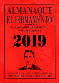"""alt=""""calendario zaragozano almanaque 2019"""""""