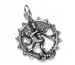 "alt="" colgante diosa hindu plata"""
