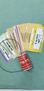 pendulo hebreo con etiquetas