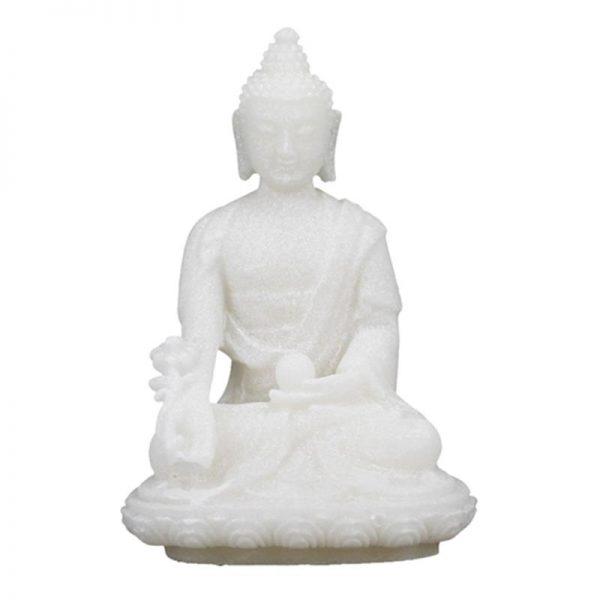 Buda de la medicina blanco