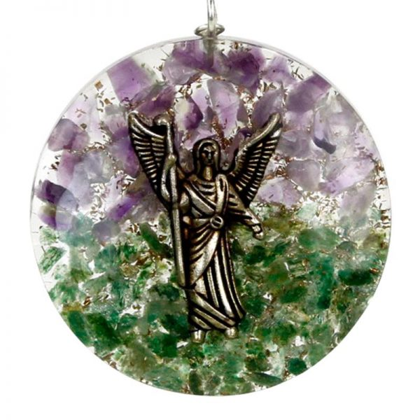 Colgante orgonita arcangel Rafael