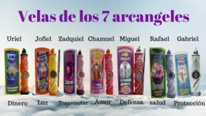 Velas 7 arcangeles