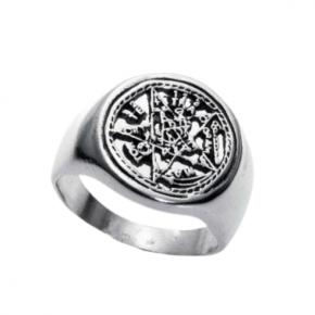 Anillo sello tetragramaton