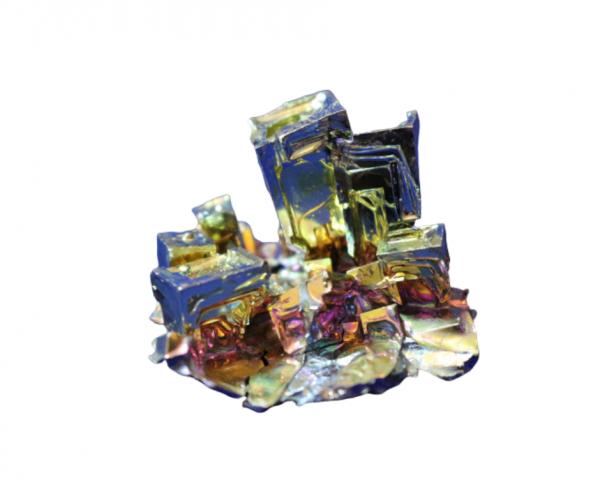 bismuto cristalizado